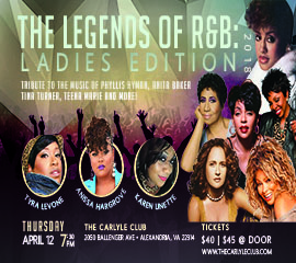 Ladies of RnB flyer